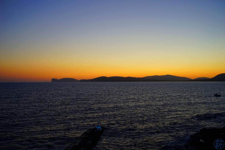Le Chameau Bleu - Blog Voyage Alghero Sardaigne - Vue sur la Méditerranée a Alghero Sardaigne