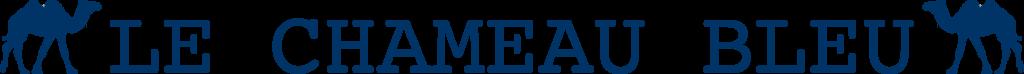 logotipo do camelo Viagem azul e gastronomia