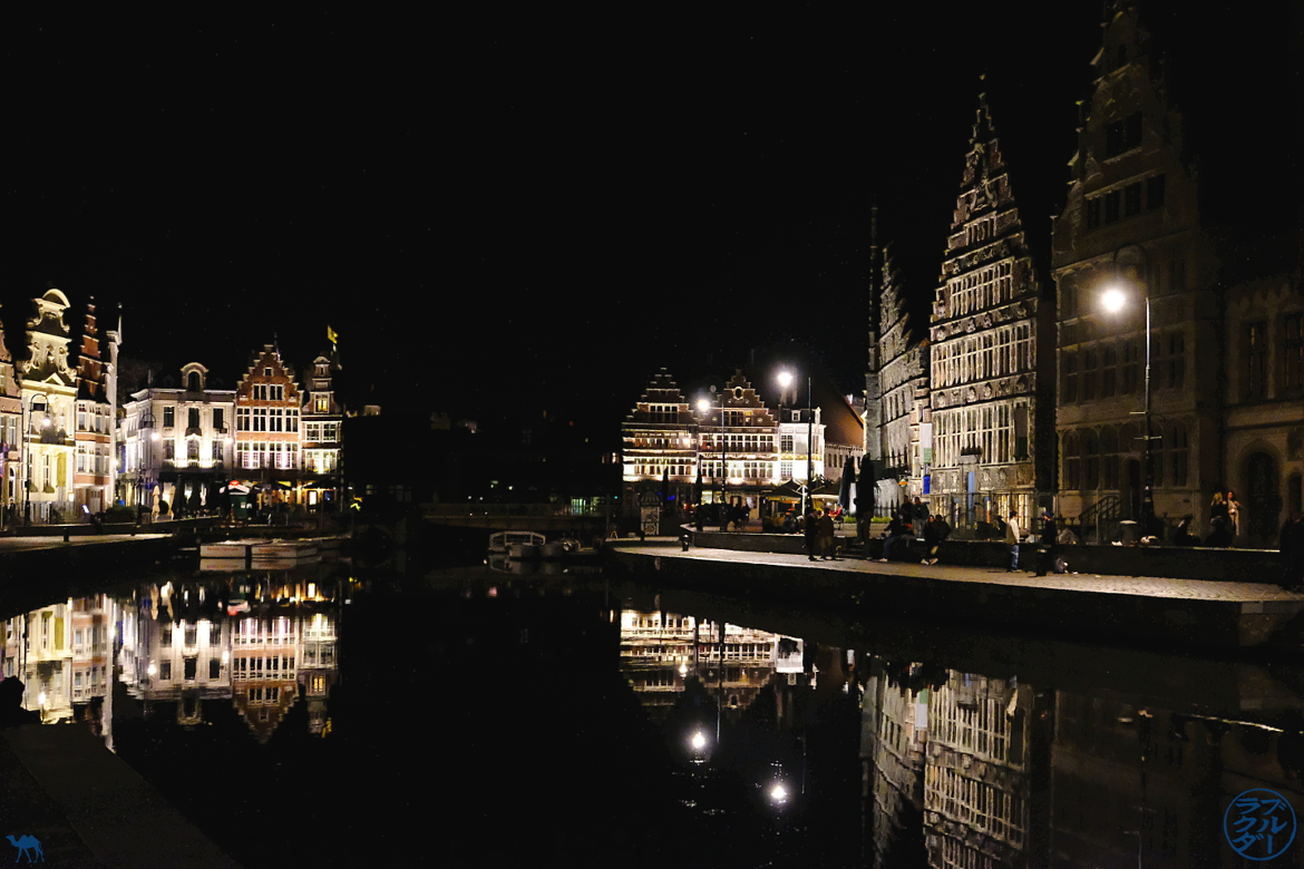 Le Chameau Bleu - Blog Escapade Gand Belgique - Gand by night