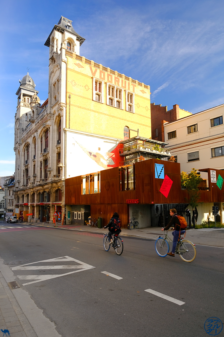 Le Chameau Bleu - Blog Voyage Belgique - le bâtiment Vooruit à Gand