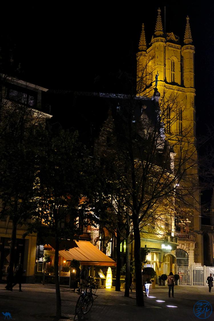 Le Chameau Bleu - Blog Gand Belgique - Illuminations de Gand la nuit