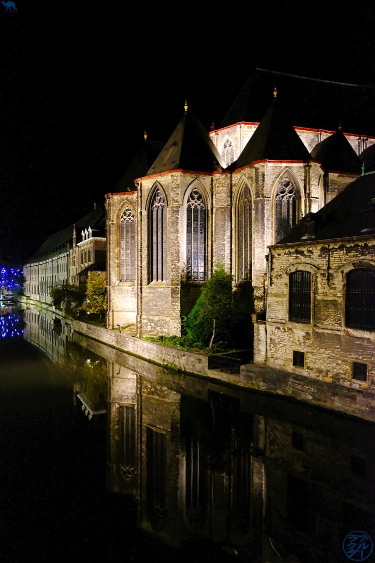 Le Chameau Bleu - Blog Voyage Gand Belgique - Eglise Saint Michel