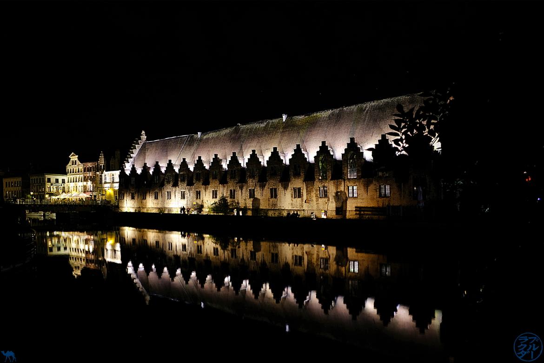 Le Chameau Bleu - Blog Gand Belgique - Miroir des canaux de Gand