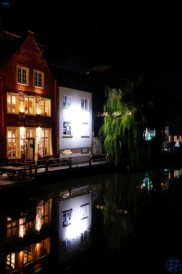 Le Chameau Bleu - Blog Voyage Gand Belgique - féerie de Gand la nuit