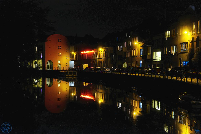 Le Chameau Bleu - Blog Gand Belgique - Balade Nocturne dans Gand