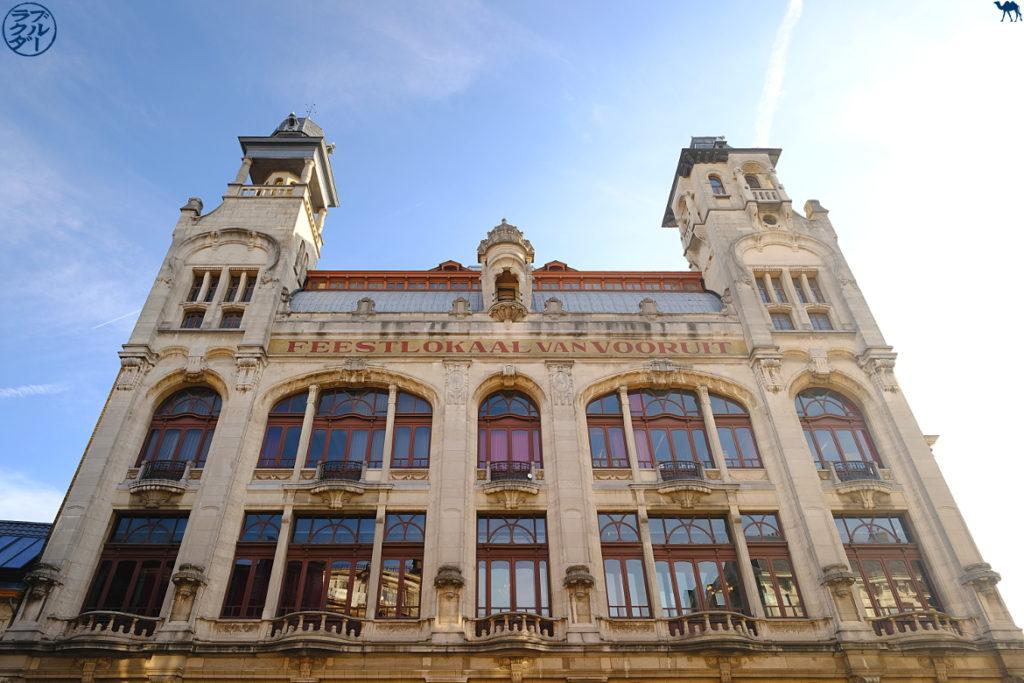 Le Chameau Bleu - Blog Voyage & Cuisine - Escapade à Gand - Vooruit et son histoire