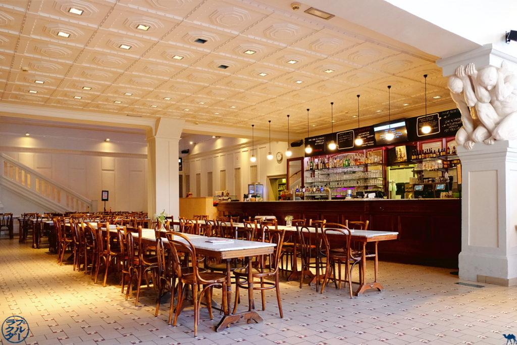 Le Chameau Bleu - Blog Gand Belgique - Restaurant de Vooruit