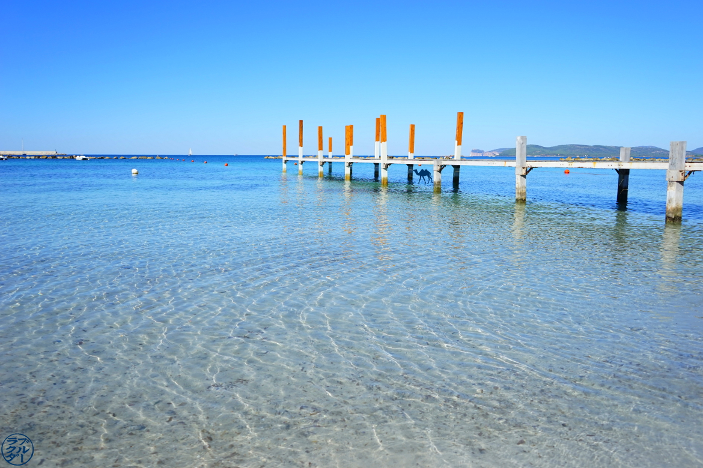 Le Chameau Bleu - Blog Voyage Alghero Sardaigne - Plage d'Alghero - Spiaggia Sardinia - Alghero Plage