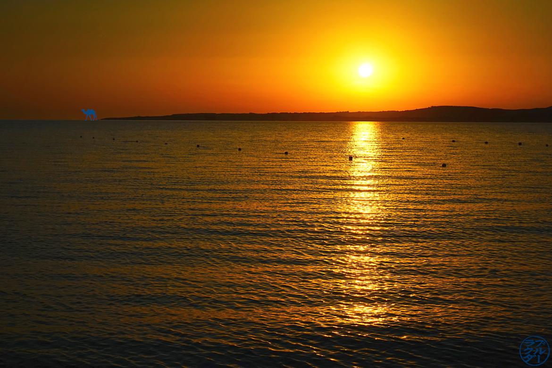 Le Chameau Bleu - Blog Voyage Sardaigne Calasetta- Plage de Spiagga Grande Calasetta Italie