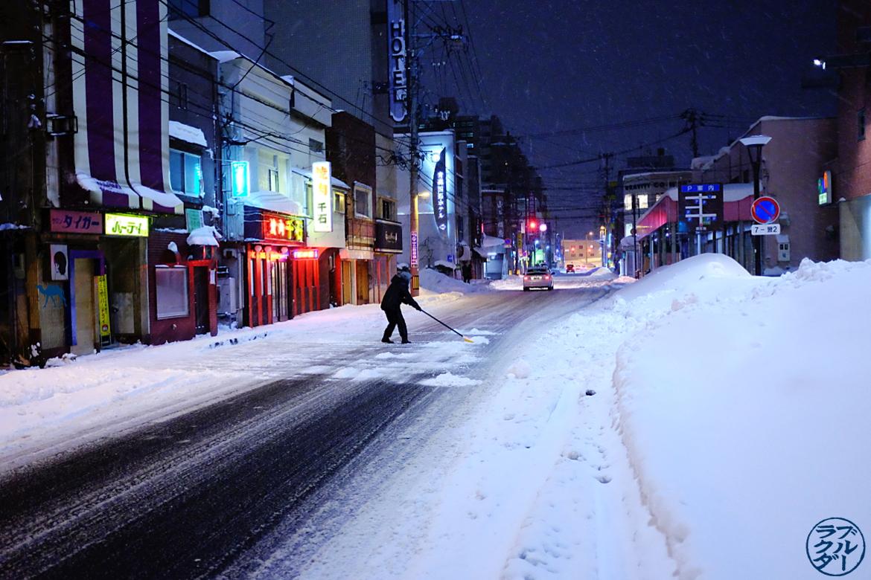Le Chameau Bleu - Voyage au Nord du Japon - Tohoku - Rue d'Aomori
