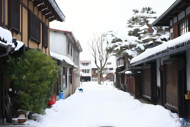 Le Chameau Bleu -Blog Voyage Takayama - Illustration deTakayama Japon Photography
