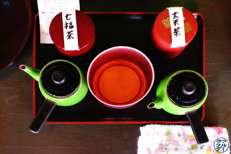 Le Chameau Bleu - Blog Voyage Onsen Tohoku - Thé de Aoni Onsen