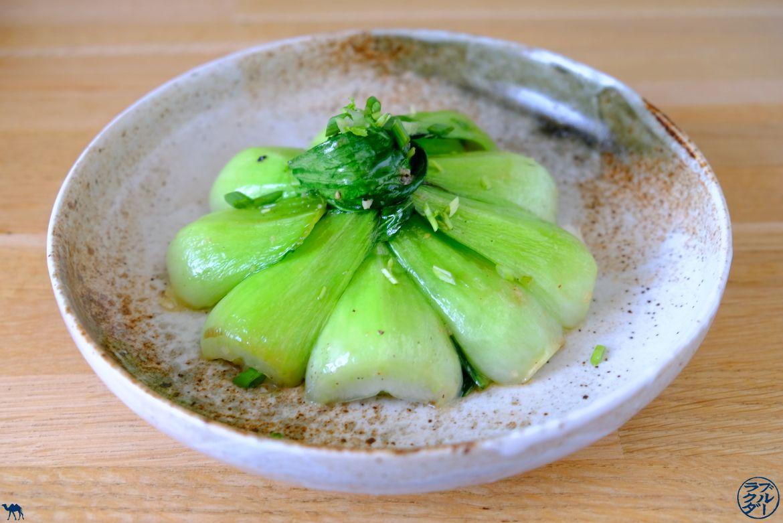 Le Chameau Bleu - Blog Cuisine - Recette Asiatique - Recette de Poêlée de Pak Choï à l'ail et gingembre