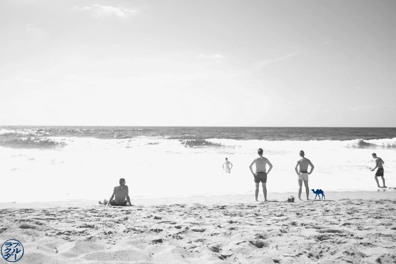 Le Chameau Bleu - Blog Voyage Sardaigne - Spiaggia di Porte Alabe - Vague Sardaigne Italie