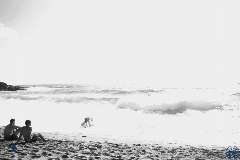 Le Chameau Bleu - Blog Voyage Sardaigne Italie - Spiaggia di Porte Alabe - Vague Plage en Sardaigne