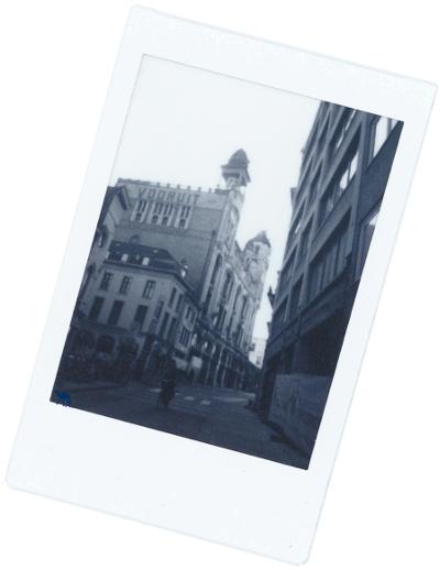 Le Chameau Bleu - Blog Voyage et Cuisine - Polaroid de Vooruit Gand