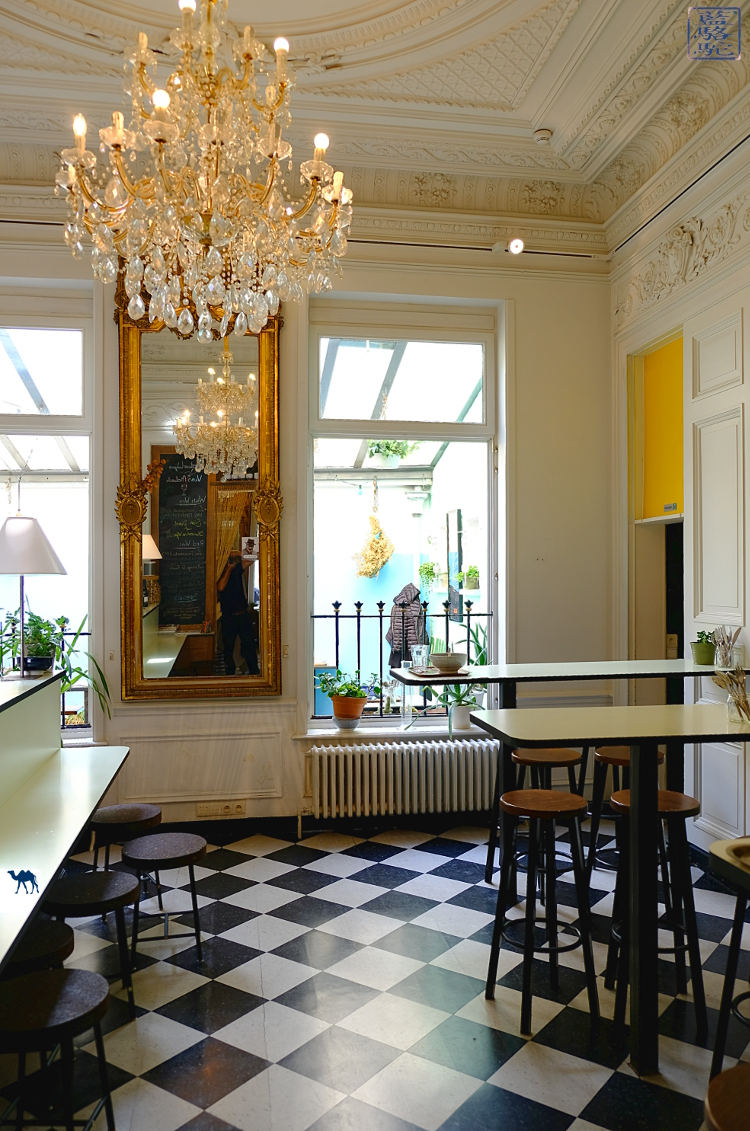 Le Chameau Bleu - Blog Voyage Restaurant Gand Belgique - Salle du botaniste Gent Belgium