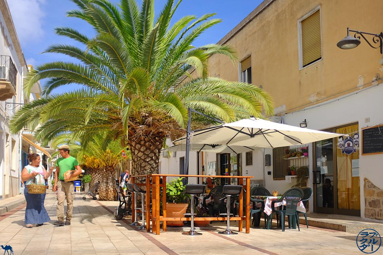Le Chameau Bleu - Blog Voyage Calasetta Sardaigne - Centre Ville de Calasetta Italie