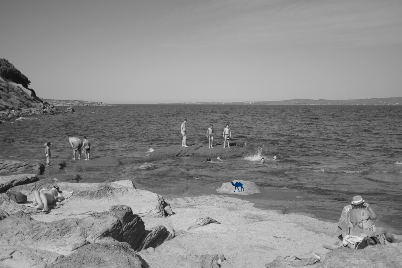 Le Chameau Bleu -Blog Voyage Sardaigne - Les petits plongeurs de Calasetta