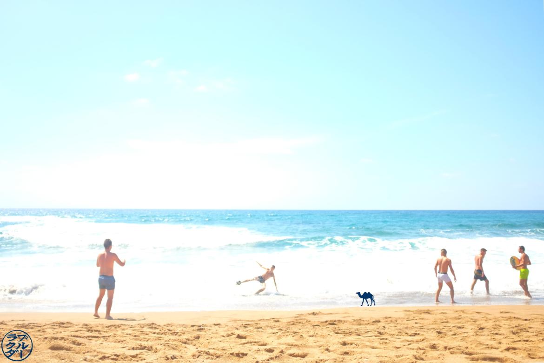 Le Chameau Bleu - Blog Voyage Sardaigne - Spiaggia di Porte Alabe - Vague Cotes de Sardaigne
