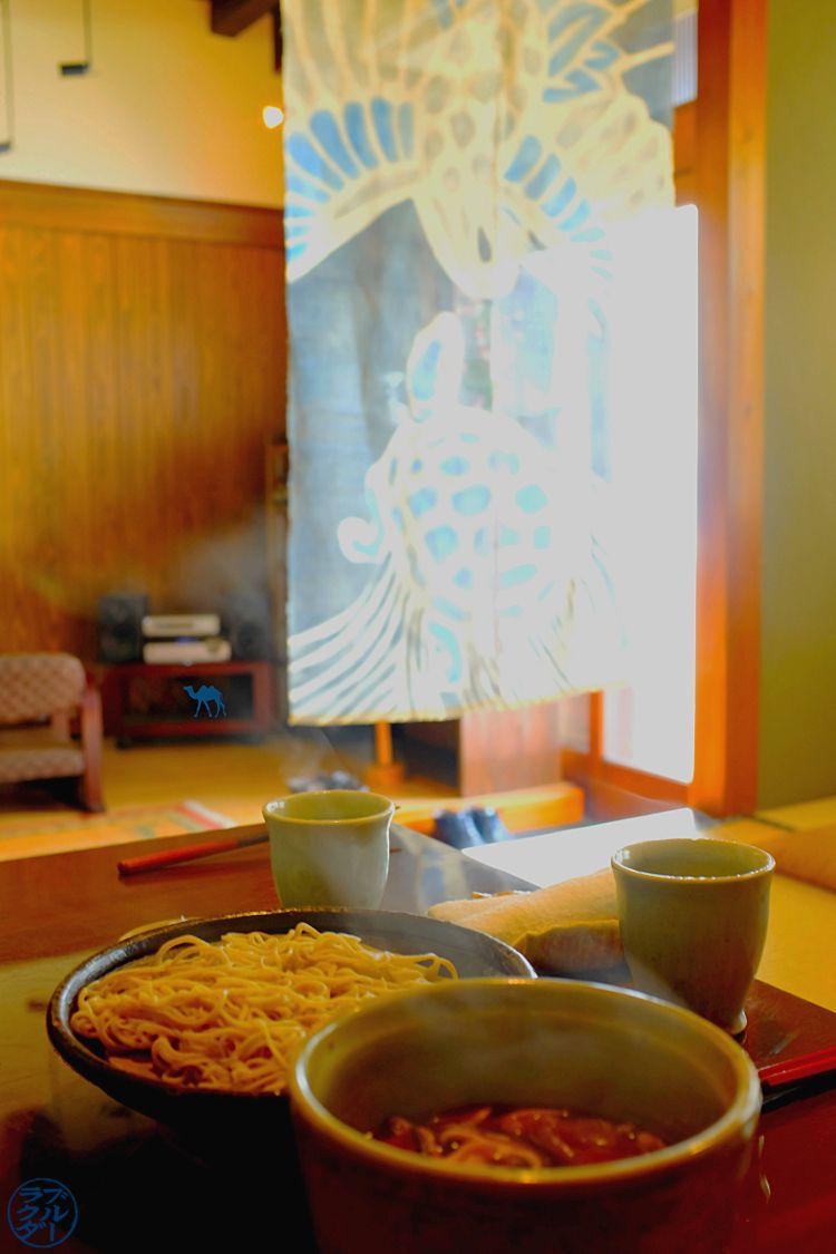 Resto Takayama Nouilles Soba de NonoHana - Le Chameau Bleu Blog Voyage Japon Takayama