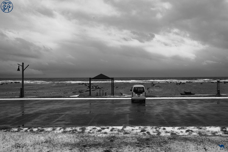 Le Chameau Bleu - Voyage au Nord du Japon - Tohoku - Oga- Plage d'U No Saki