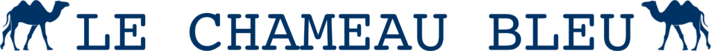 Logotipo The Blue Camel - Blog viajar e gastronomia