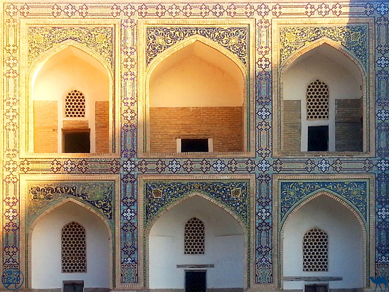 Le Chameau Bleu - Blog Voyage Ouzbékistan Boukhara - Médersa Mir i Arab - Asie Centrale