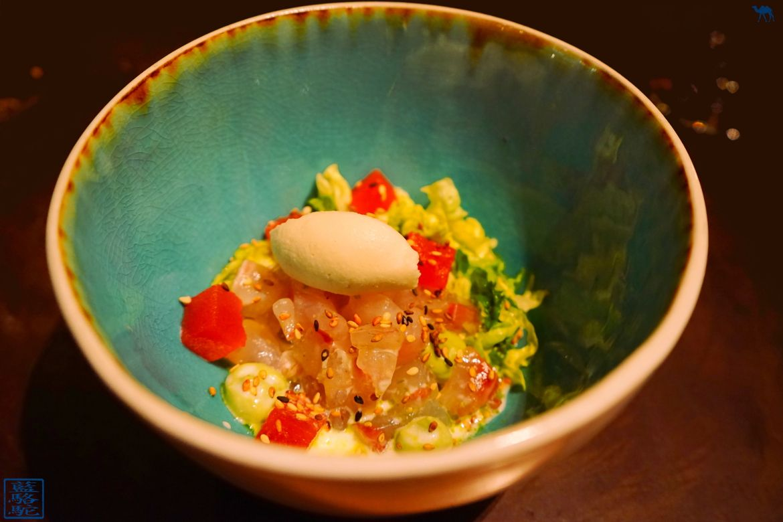 Le Chameau Bleu - Blog Voyage Restaurant Gastronomique Gand Belgique - Volta - bar en ligne yuzu wasabi - Ghent - Week end en Belgique