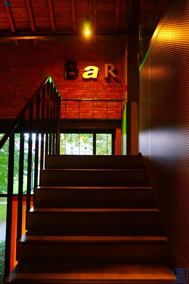 Le Chameau Bleu -Blog Voyage Restaurant Gand Belgique - Bar du Restaurant gastronomique Volta Ghent - Week end en Belgique