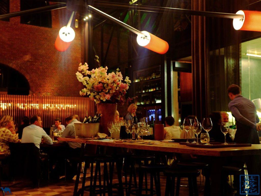 Le Chameau Bleu - Blog Voyage Restaurant Gand Belgique - Salle du restaurant gastronomique Volta à Gand