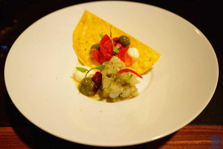 Le Chameau Bleu - Blog Voyage Restaurant Gand Belgique - Gambas Sauvage Spicy Taco - Ghent - Volta - Week end à Gand en Belgique