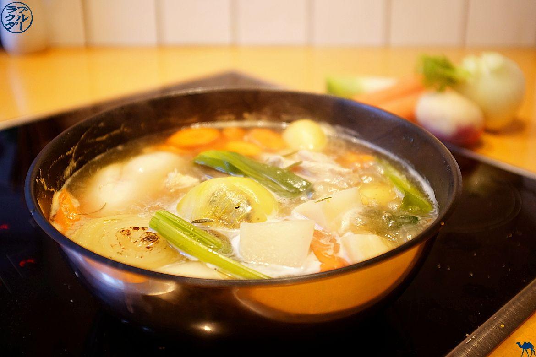 Blog Gastronomie et Voyage - Recette du waterzoi poulet à la gantoise