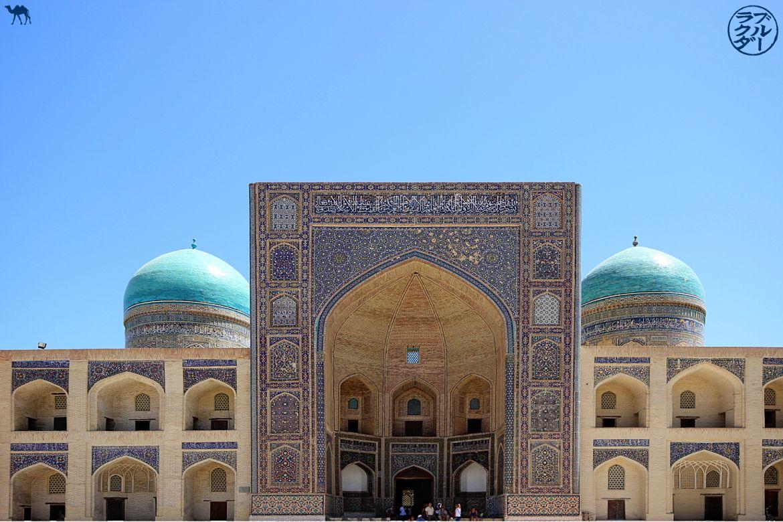 Le Chameau Bleu - Blog Voyage Ouzbékistan - Médersa Mir-i Arab - Séjour en Asie Centrale