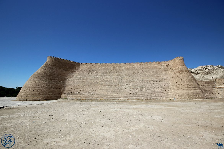Le Chameau Bleu - Blog Voyage Ouzbékistan Boukhara - citadelle ARK à Boukhara La forteresse de Boukhara - Ark