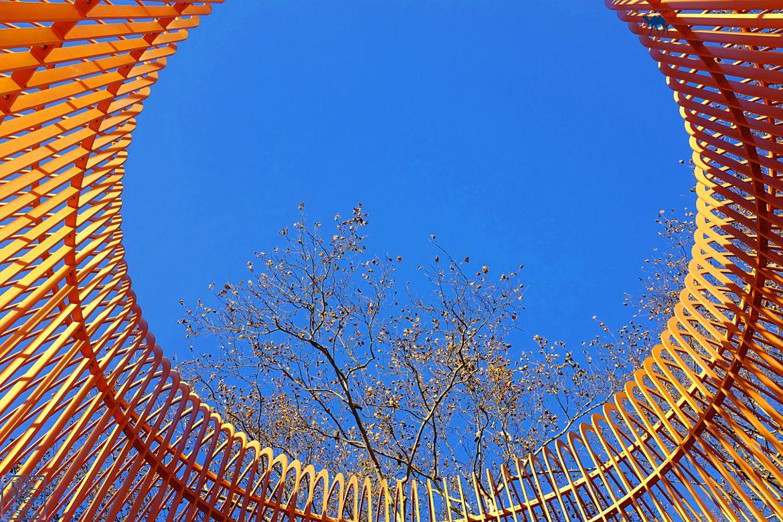 Le Chameau Bleu - New York oeuvre de Ai Wei Wei Manhattan Blog Voyage New York City