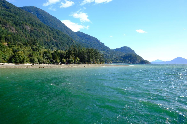 Le Chameau Bleu - Blog Voyage Canada Colombie Britannique - Paysage magique de Porteau Cove