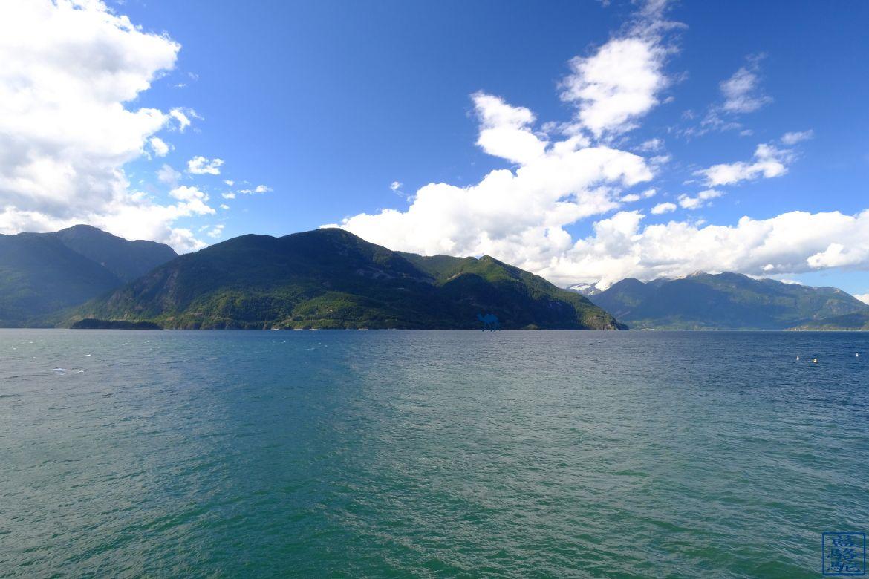 Le Chameau Bleu - Blog Voyage Canada Colombie Britannique - Vue depuis Porteau Cove