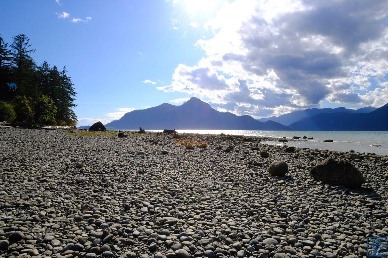 Le Chameau Bleu - Blog Voyage Canada Colombie Britannique - Plage de Porteau Cove