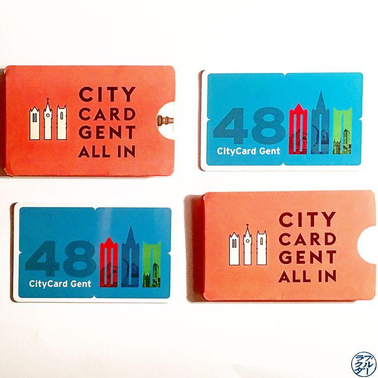 Le Chameau Bleu - Blog Voyage Gand Belgique - La CityCard Gent - Transport à Gand Belgique