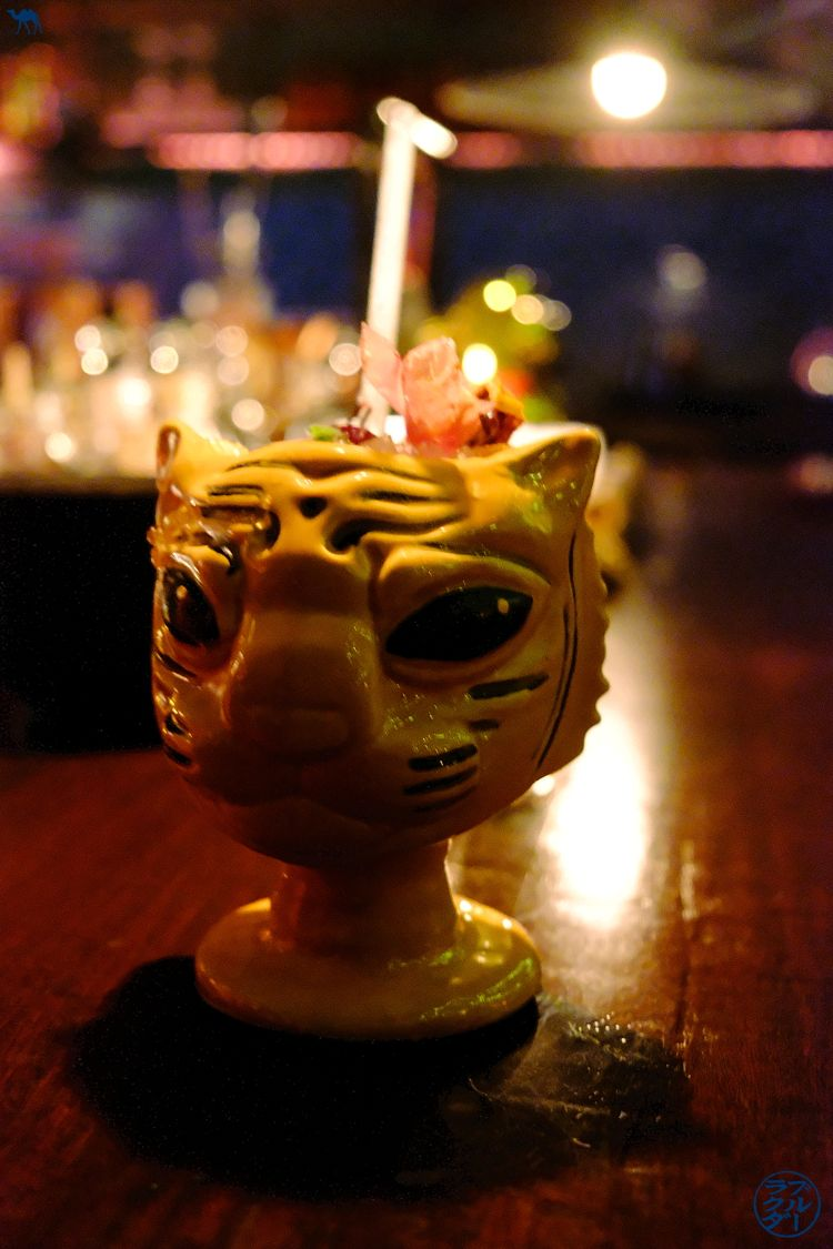 Blog Voyage Londres - Cocktail Tigre de l'Opium Bar - Bar à Cocktails dans Soho Londres