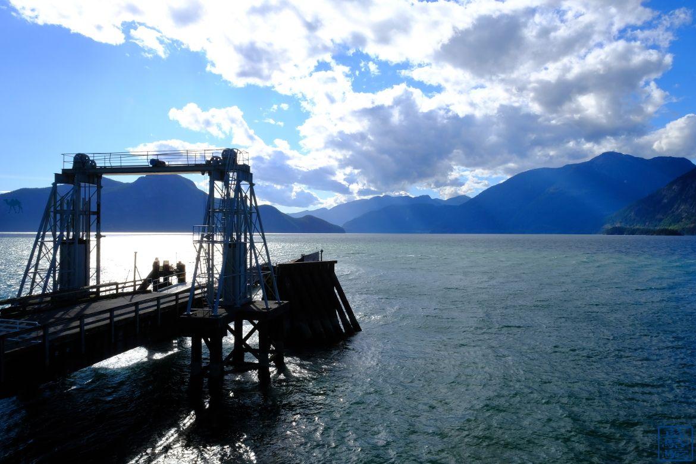 Le Chameau Bleu - Blog Voyage Canada Colombie Britannique -Ponton de Porteau Cove