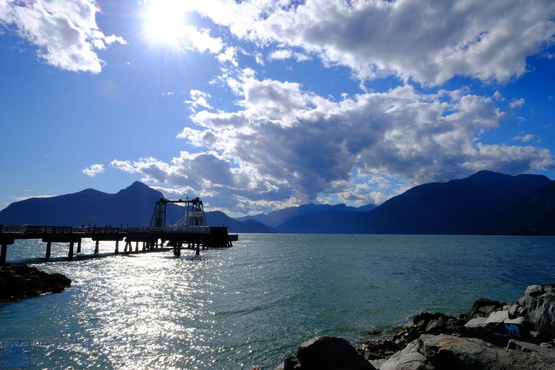 Le Chameau Bleu - Blog Voyage Canada Colombie Britannique - Ponton de Porteau Cove