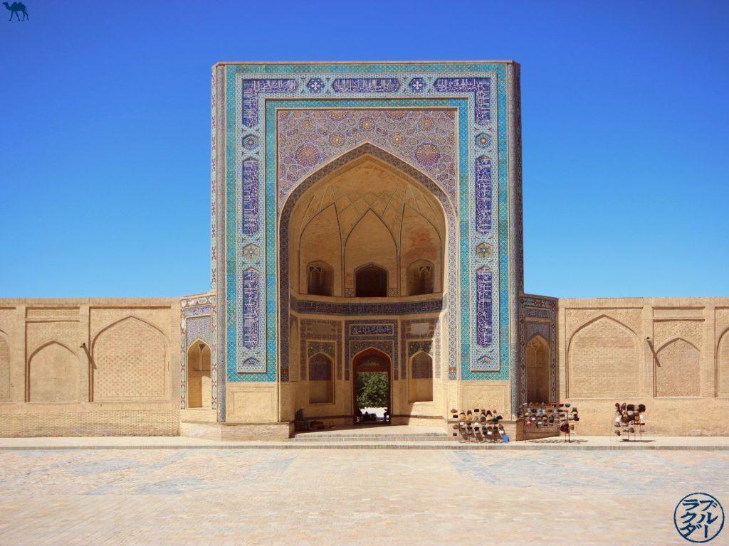 Le Chameau Bleu - Blog Voyage Ouzbékistan - Visite de la Mosquée Kalan à Boukhara