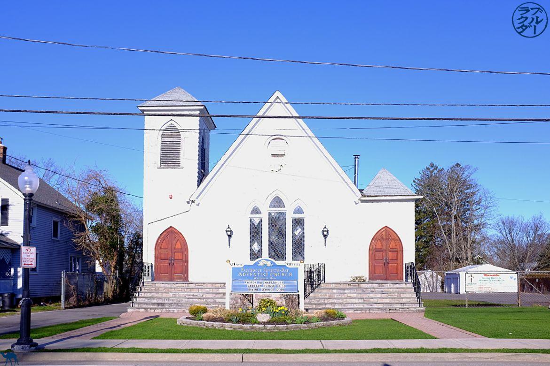 Le chameau bleu- Blog voyage -Long-Island-Patchogue-Eglise