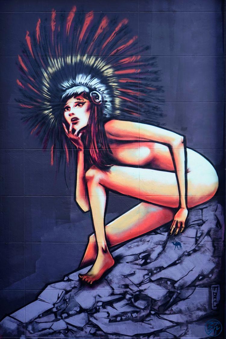 Le Chameau Bleu - Blog Voyage Gand Belgique - Street art - L'indienne - Gand - Escapade Flamande à Gand