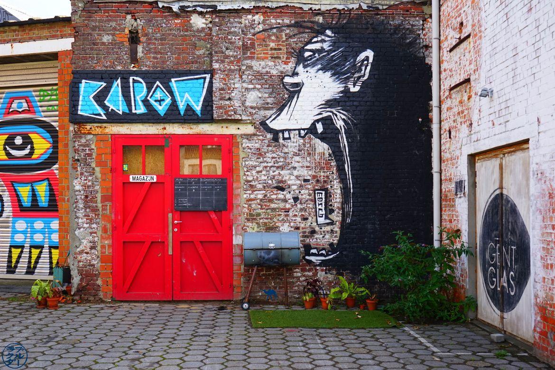 Le Chameau Bleu - Blog Voyage Gand Belgique - Gent Glas -Kapow - Belgique Street Art