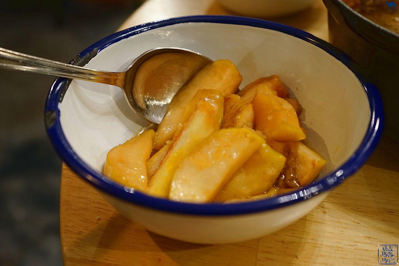 Le Chameau Bleu - Blog Voyage Restaurant Gand Belgique - Accompagnement de la carbonade de meme gusta - Resto à Gand en Belgique