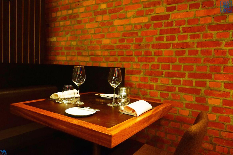 Le Chameau Bleu - Blog Voyage Restaurant Gand Belgique - Couverts du restaurant Volta - Gand - Belgique