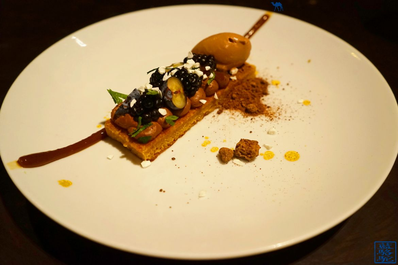 Le Chameau Bleu - Blog Voyage Restaurant Gand Belgique - Dessert Restaurant gastronomique Volta - Gand